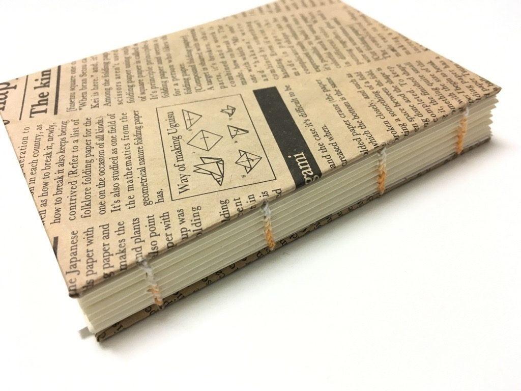 糸かがり手製本ワークショップ完成