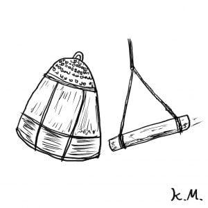 一文物語365の挿絵:鐘を打つ