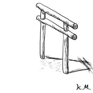 一文物語365の挿絵:鳥居