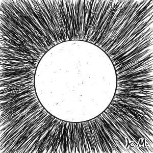 一文物語365の挿絵:天体望遠鏡