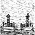 一文物語365の挿絵:お墓