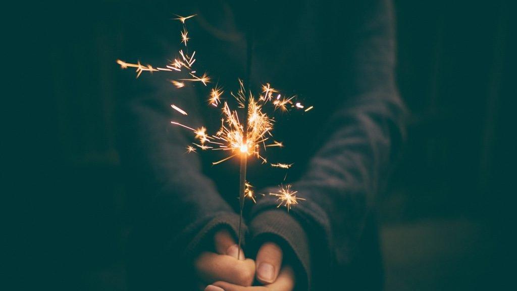 花火の火花