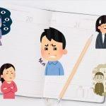 イライラした人や感情をあらわにした人たちと日記帳