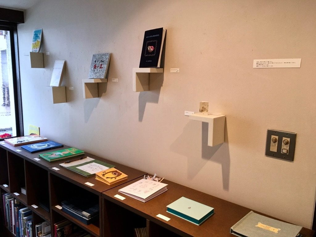 Book Lovers 2018 MOTOYA Book・Cafe・Gallery店内