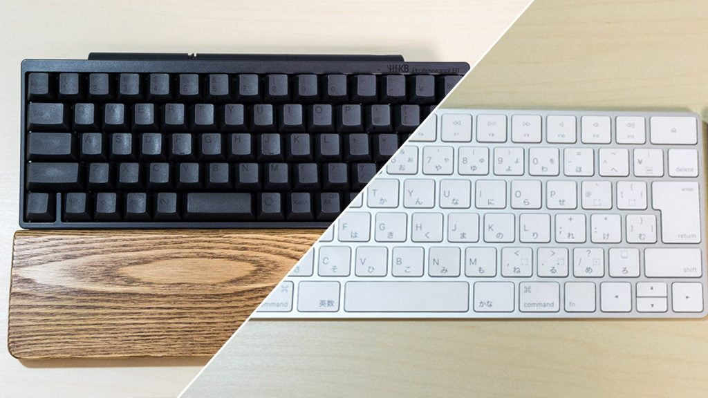 HHKB Professional BTキーボードとMagic Keyboard