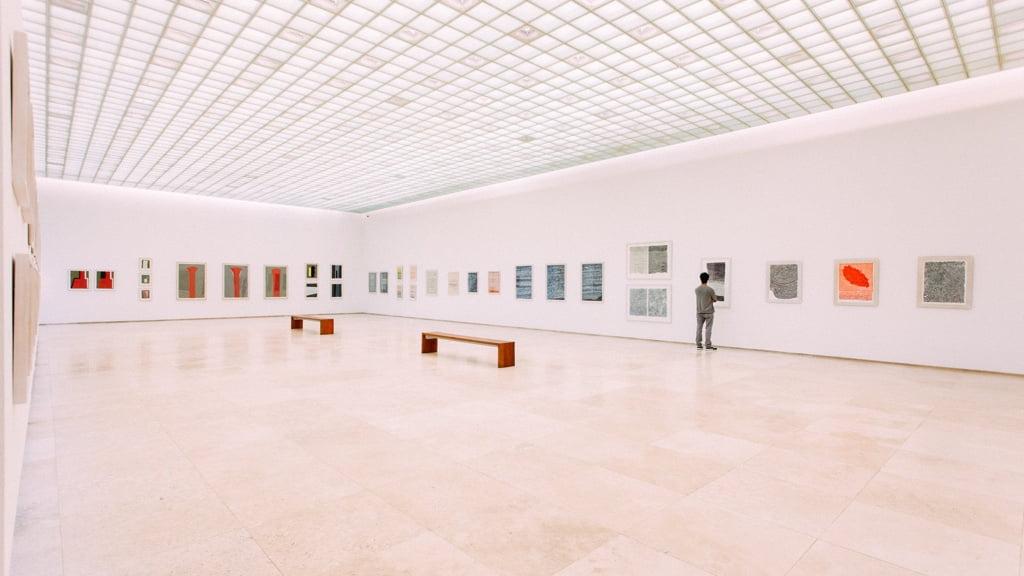 大きな展示会場