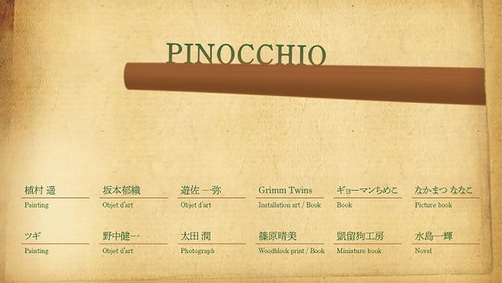 Pinocchio展DM