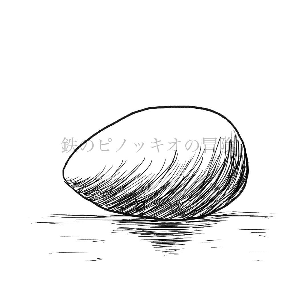 Pinocchio展に出展する小説「鉄のピノッキオの冒険」挿絵画像サンプル卵