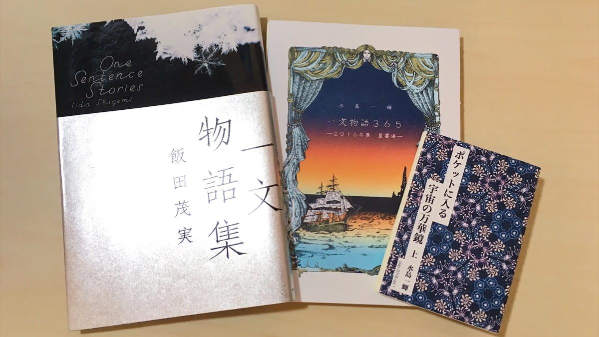 一文物語集 著:飯田茂実 手製本一文物語365