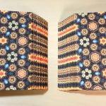一文物語手製本「ポケットに入る宇宙の万華鏡 下」の表紙と裏表紙