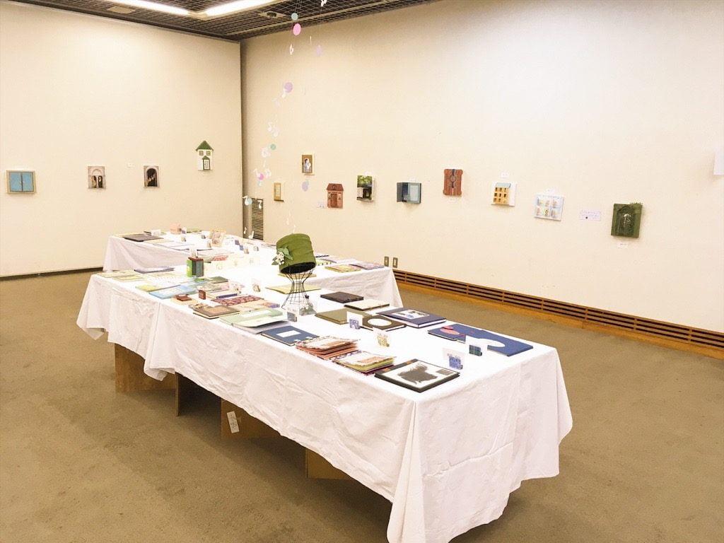 第40回八王子市図書館「手づくりの本展」会場
