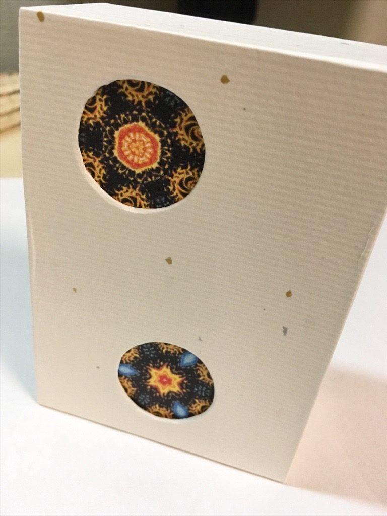 ポケットに入る宇宙の万華鏡BOX完成側面