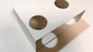 一文物語手製本「ポケットに入る宇宙の万華鏡」BOXの箱