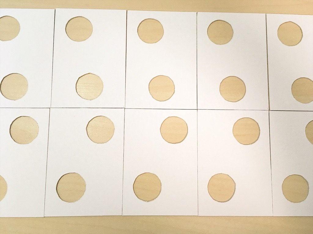 「ポケットに入る宇宙の万華鏡」の箱の材料