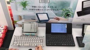 第28回文学フリマ東京キングジムのブースのポメラ