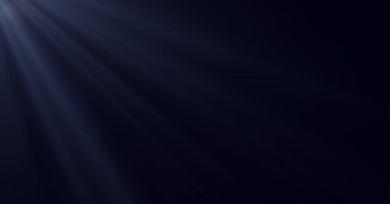 暗闇の中の光