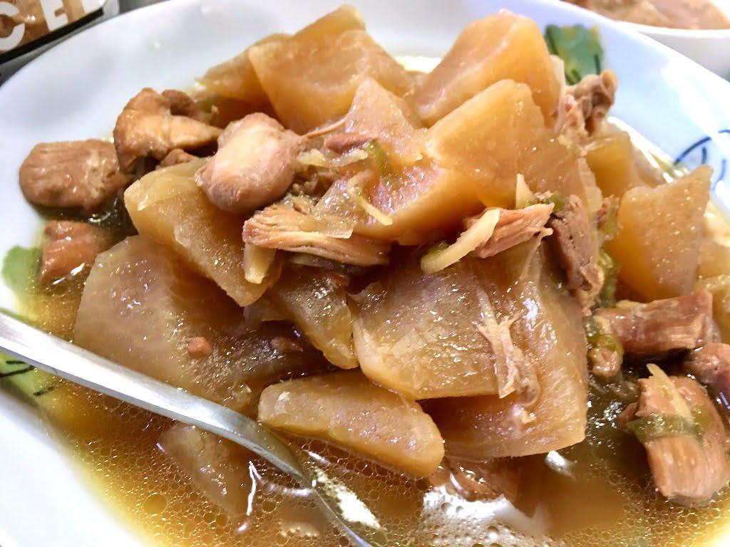大根とお肉の煮物