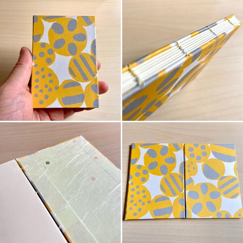 手製本ワークショップで作ったミニブック