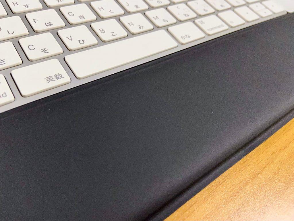 ロジクール「MXパームレスト」とMagic Keyboard